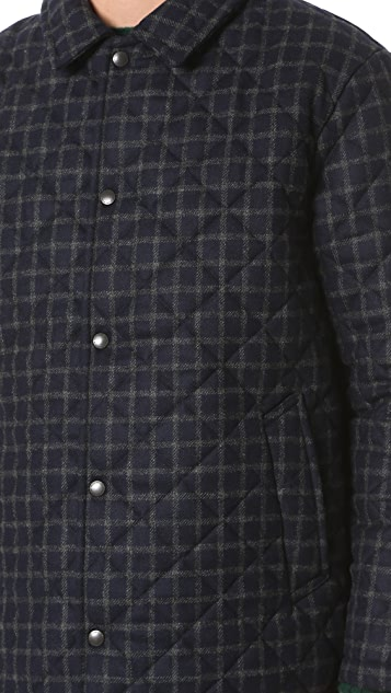 Traditional Weatherwear by Mackintosh Wembley Windowpane Tweed Jacket