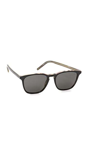 Tomas Maier Palm Core Square Sunglasses