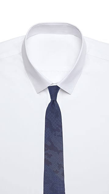 Thomas Mason 7cm Dot Tie