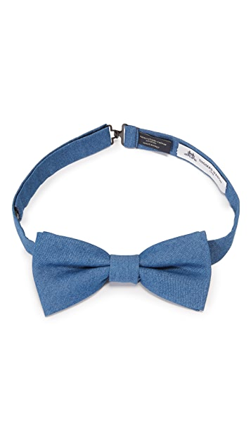 Thomas Mason Denim Bow Tie