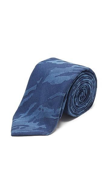 Thomas Mason 7cm Camo Tie