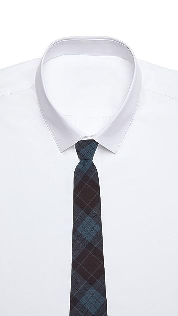 Thomas Mason 7cm Plaid Tie