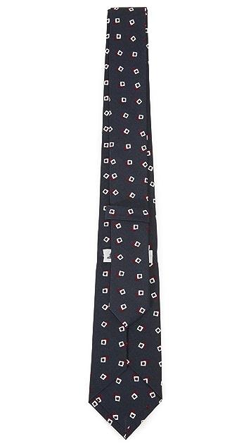 Thomas Mason 7cm Squares Tie