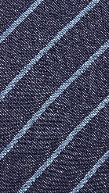 Thomas Mason Stripe Silk Tie