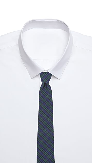 Thomas Mason Blackwatch Plaid Tie