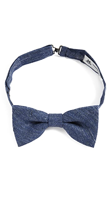 Thomas Mason Solid Bow Tie