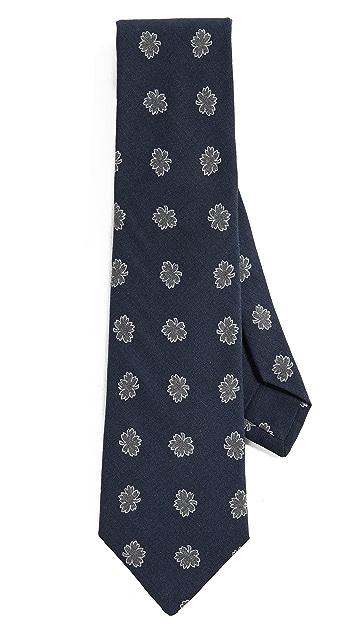 Thomas Mason Floral Tie