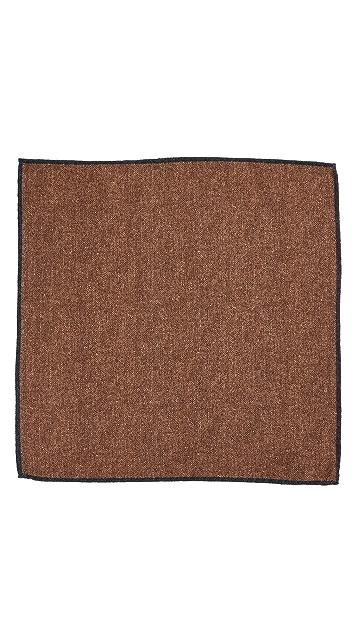 Thomas Mason Solid Pocket Square