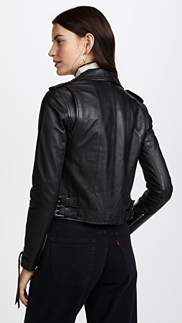 The Mighty Company Napoli Biker Jacket