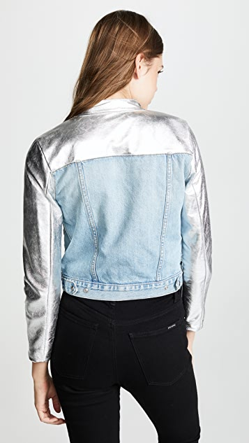 The Mighty Company Manchester Denim & Leather Jacket
