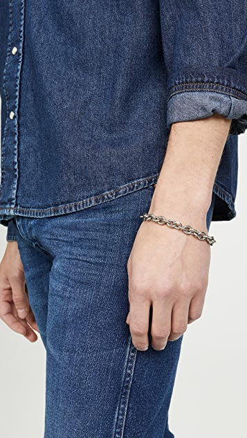 The Monotype The Theo Large Cable Bracelet