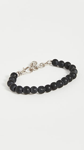 The Monotype The Paulo Adjustable Beaded Bracelet