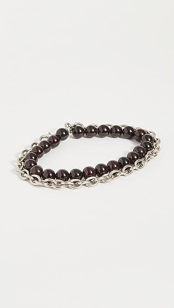 The Monotype The Duncan Double Wrap Chain Bracelet