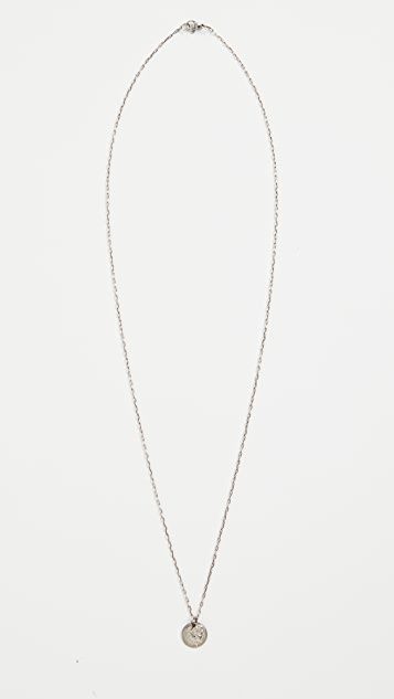 The Monotype Coin Necklace