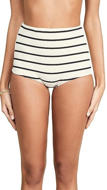 TM Rio De Janeiro Milagres High Waist Bikini Bottoms