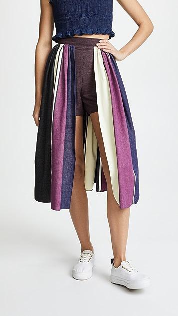 Tata Naka Skirted Shorts