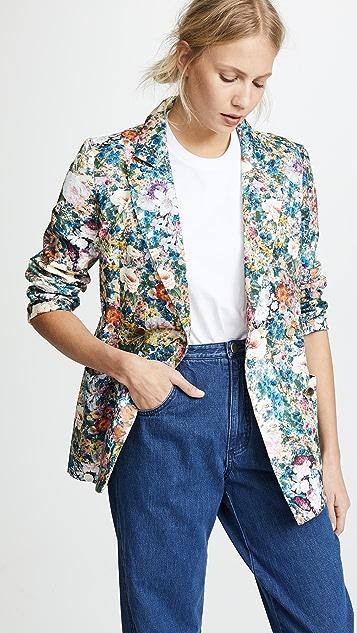 Tata Naka Floral Blazer - Multi Floral