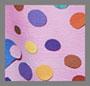 粉色圆点和心形