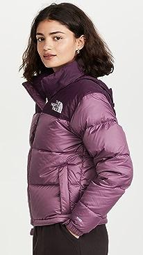 노스페이스 1996 레트로 숏패딩 The North Face 1996 Retro Nuptse Jacket,Pikes Purple/Blackberry Wine