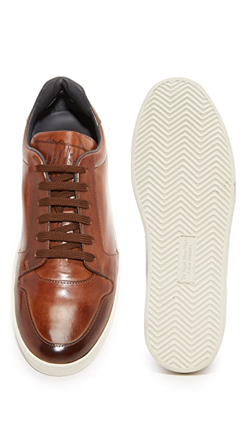 To Boot New York Barton Leather Sneakers
