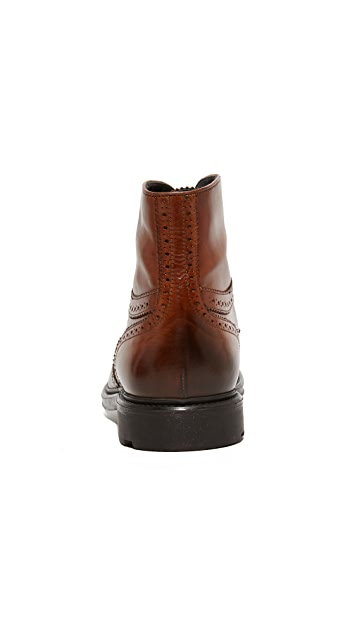 To Boot New York Hobson Leather Wingtip Boots