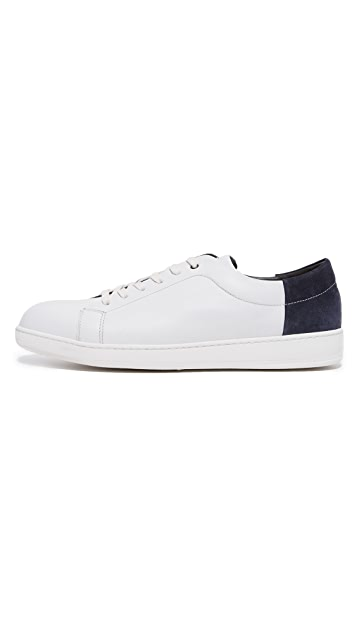 To Boot New York Avery Leather Sneakers