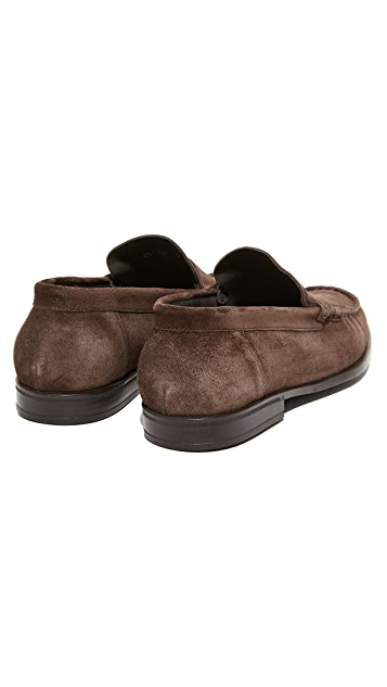 To Boot New York Sheen Suede Loafers