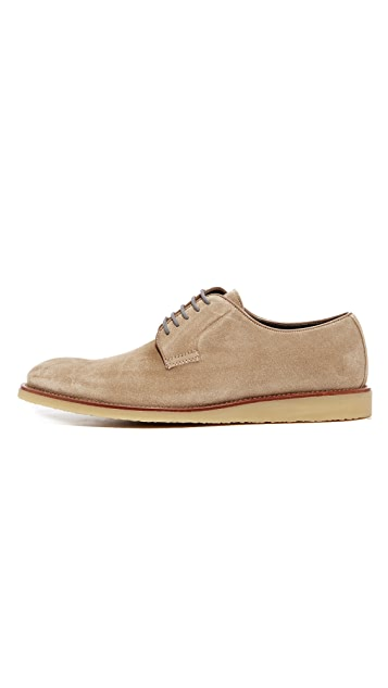 To Boot New York Jack Suede Lace Up Shoes