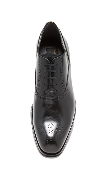 To Boot New York Salinger Punched Toe Lace Up Oxfords