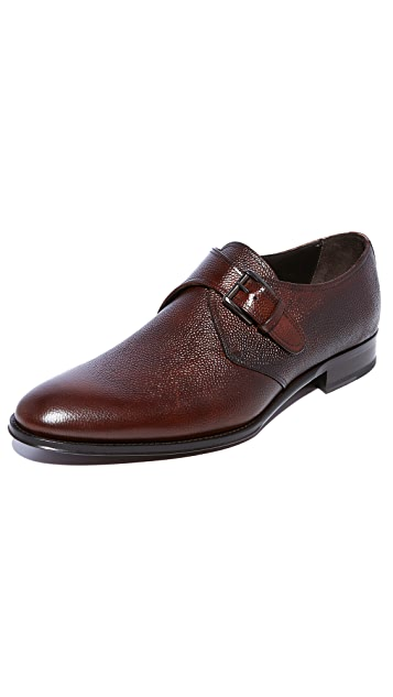 To Boot New York Emmett Single Monk Strap Shoes ...
