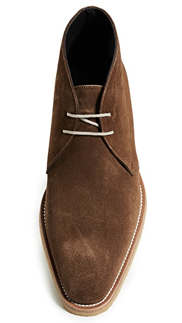To Boot New York Banker Suede Chukka Boots with Crepe Sole