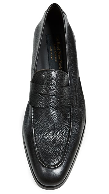 To Boot New York Johnson Grain Penney Loafers
