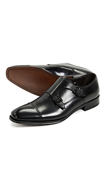 To Boot New York Grant Double Monk Strap Shoes