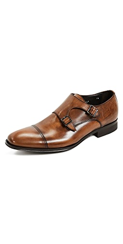 To Boot New York - Grant Double Monk Strap Shoes
