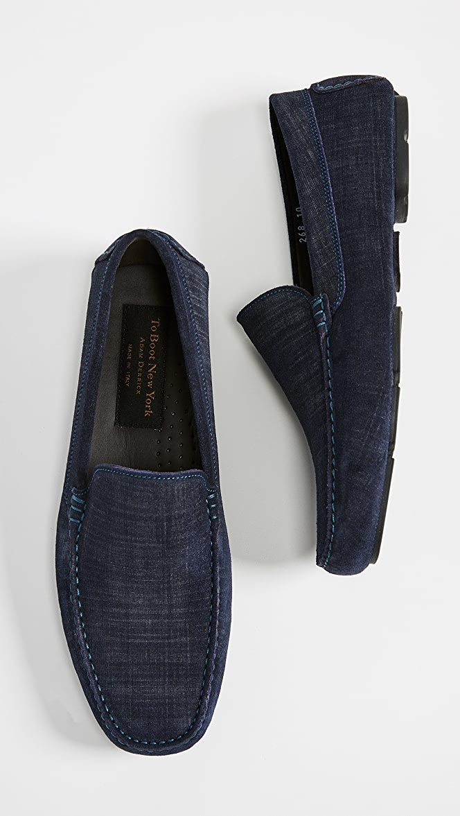 To Boot New York Lewis Suede Drivers