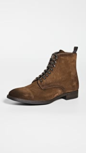 To Boot New York Richmond Suede Lace Boots