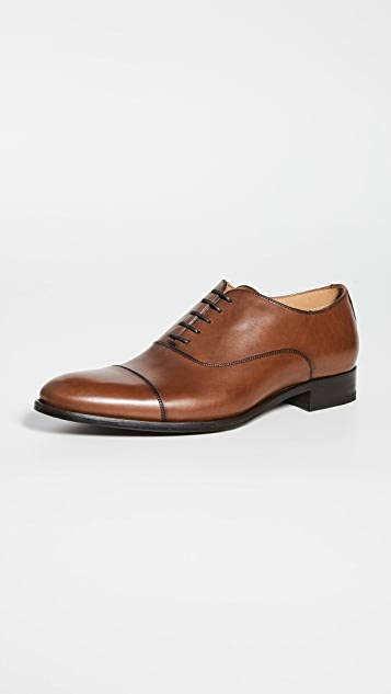 To Boot New York Forley Flex Tan Cap Toe Shoes