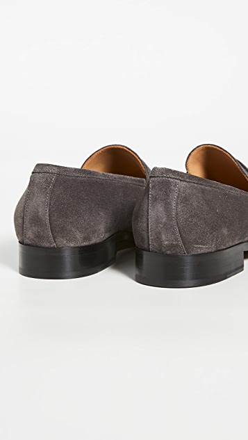 To Boot New York Tesoro Suede Flex Penny Loafers