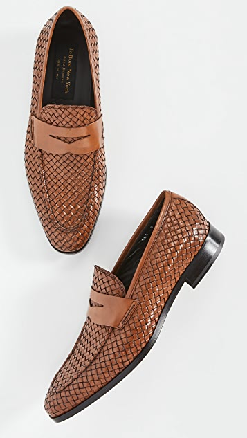 To Boot New York Rapallo Woven Dress Shoes