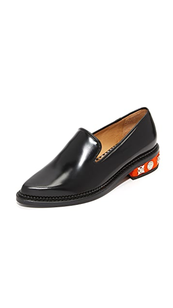 Toga Pulla Embellished Loafers