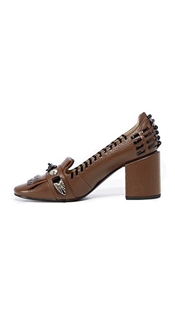Toga Pulla Kiltie Stitch Pumps