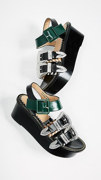 Toga Pulla Flatform Sandals