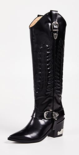 Toga Pulla - Tall Buckled Boots