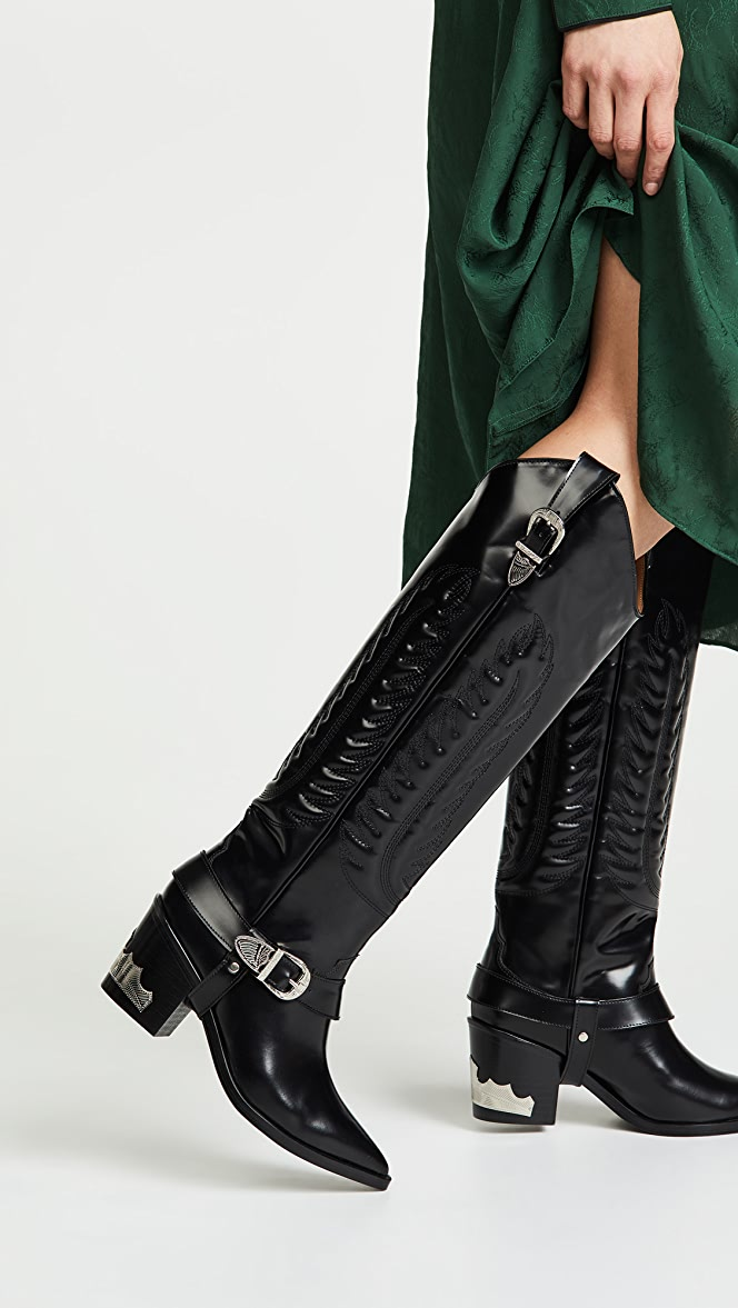 Toga Pulla Tall Buckled Boots   SHOPBOP