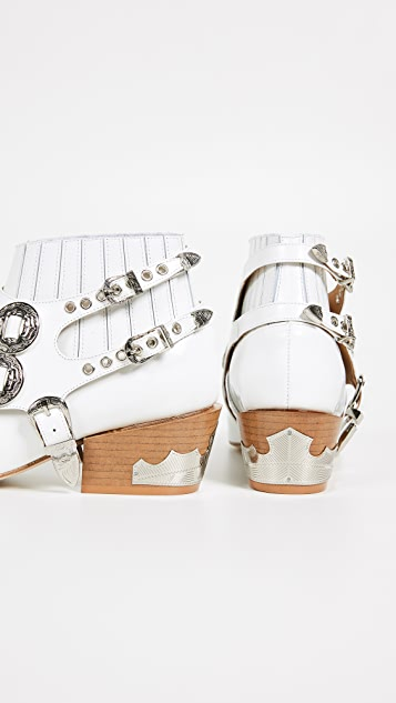 Toga Pulla Harness Ankle Boots