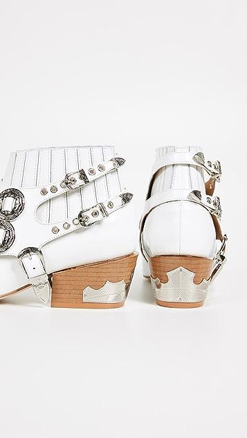 Toga Pulla 饰带踝靴