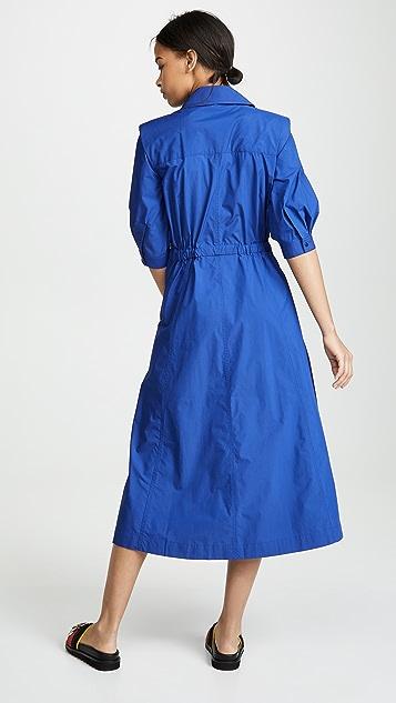 Toga Pulla Платье-рубашка из тафты
