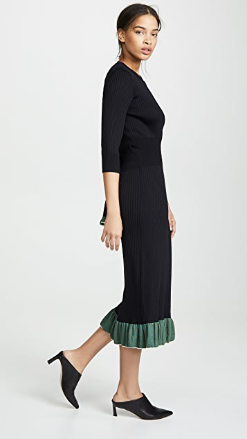Toga Pulla Wide Rib Knit Dress