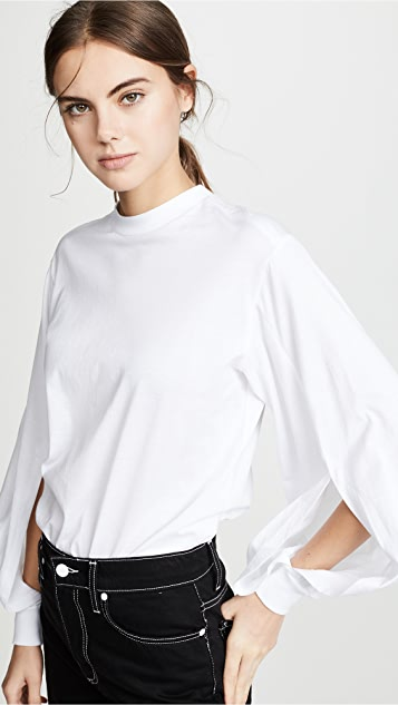 Toga Pulla Silket Jersey Top