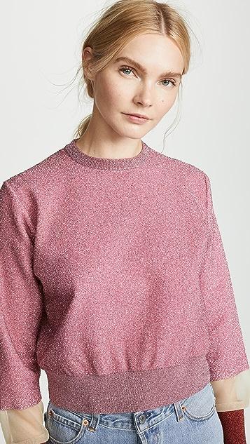 Toga Pulla Metallic Knit Pullover